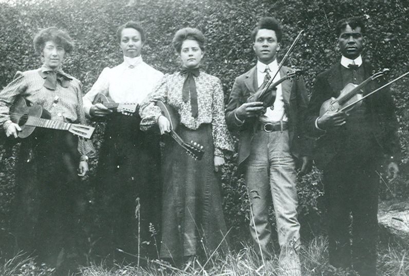 Scott Family Black Michigan Old Time Musicians